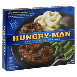 Hungry Man TV Dinner
