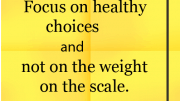 Weight Loss Tip: Make Healthy Choices