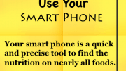 Weight Loss Tip - Use Your Smart Phone