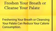 Weight Loss Tips: Freshen Breath
