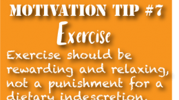 motivation tip 7-Exercise is not Punish