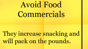 Avoid Food Commercials