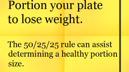 Weight Loss Tip: Divid Your PlateWeight Loss Tip: Divid Your Plate