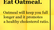 Weight Loss Tip - Eat Oatmeal
