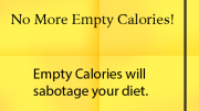 Weight Loss Tip: Empty Calories