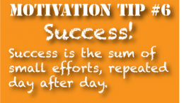 Motivation tip: Success