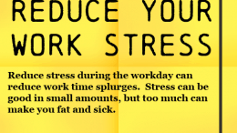 Weight Loss Tip - Reduce Your Work Stress