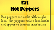 Weight Loss Tip 47 - Eat Hot Peppers