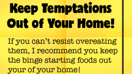 Weight Loss Tip 49 - Keep Temptations Out of Your Home