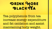Weight Loss Tip 50 - Drink more black tea