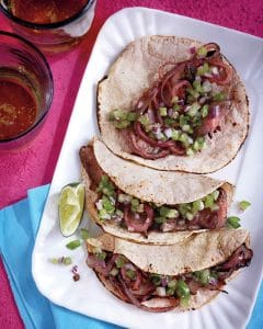 Spiced Steak Tacos