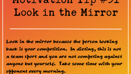 Motivation Tip 31 - Look in the Mirror