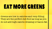 Weight Loss Tip 69 - Eat More Greens