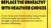 Weight Loss Tip 73 - Replace Unhealthy with Healthier Choices