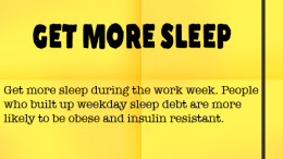 Weight Loss Tip 70 - Get More Sleep