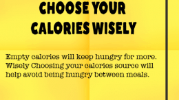 Weight Loss Tip 80 - Choose your calories wisely