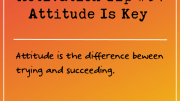 Motivation Tip 34 - Attitude