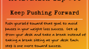 Motivation Tip 38 - Keep Pushing Forward