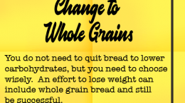 Weight Loss Tip 115 - Change to Whole Grain