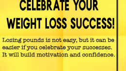 Weight loss tip 118 - Celebrate your weight loss success