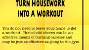 Weight Loss Tip 102 - Turn Housework into a Workout