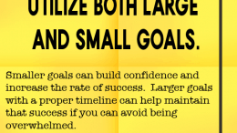 Weight loss tip 125 - Utilize both large and small goals