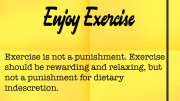 Weight loss tip: 153 - Enjoy Exercise