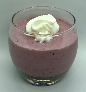 Blackberry Butternut Kiwi Smoothie