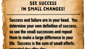 Weight loss tip 142 - See success in small changes