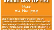 Weight loss tip 161 - Pass on the pop