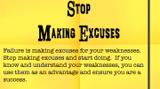 WLT 174 - Stop making excuses