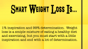 Weight Loss Tip 179 - Smart Weight Loss is