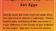 Weight Loss Tip 198 - Eat Eggs