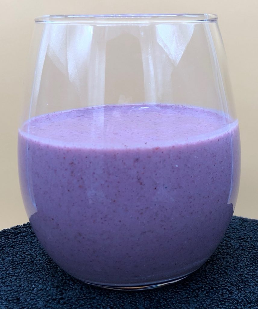 Blackberry Cherry Flax Smoothie