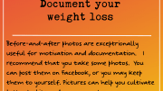 Weight Loss Tip 211 - Document your weight loss