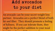 Weight loss tip: Add avocados to your diet