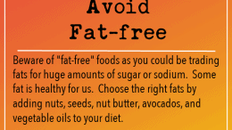 Weight Loss Tip 246-Avoid Fat-Free